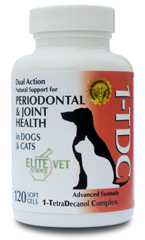 1-TDC® Fatty Acid formulation - Superior Periodontal,Joint & Muscle Support for Your Dog